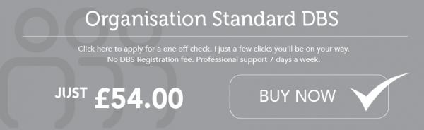 Organisation Standard DBS Check