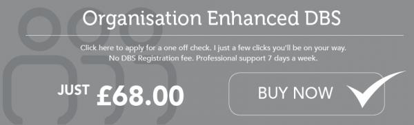 Organisation Enhanced DBS Check